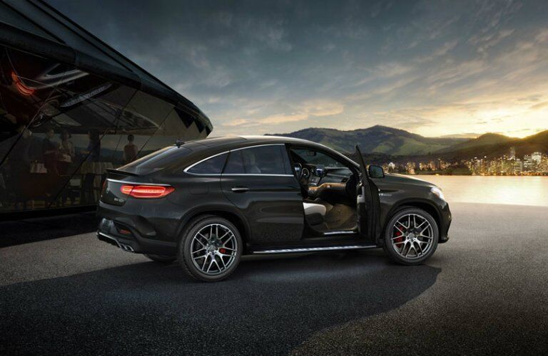 2017 AMG GLE Coupe black