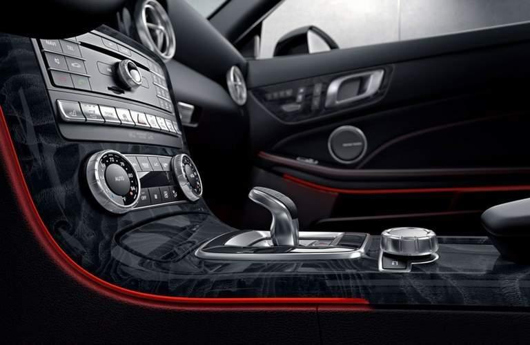 Center stack of 2018 Mercedes-Benz SLC Roadster
