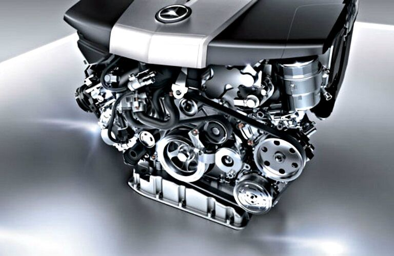 Mercedes-AMG biturbo engine