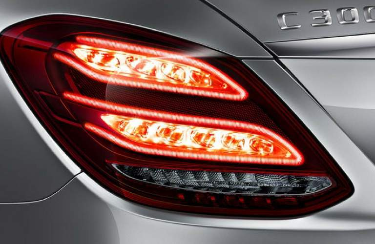 2018 Mercedes-Benz C-Class Sedan LED Lighting