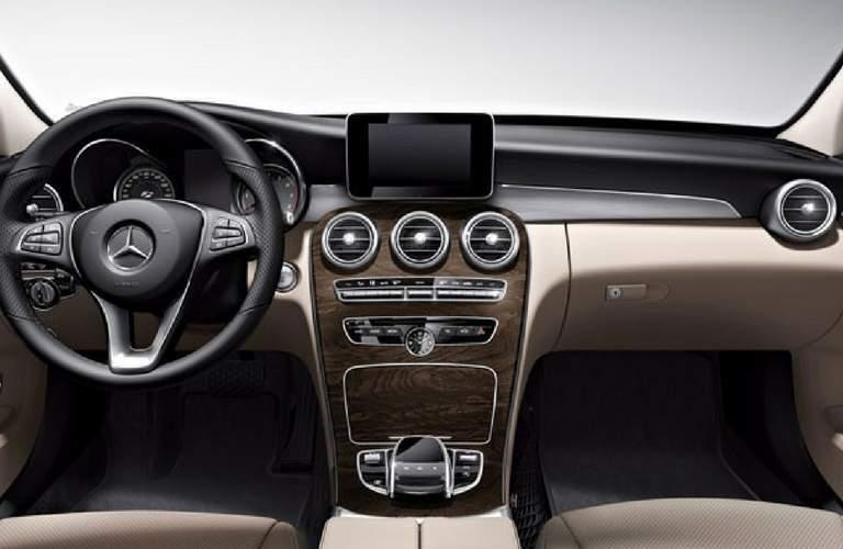 2018 Mercedes-Benz C-Class Sedan Dual Screens