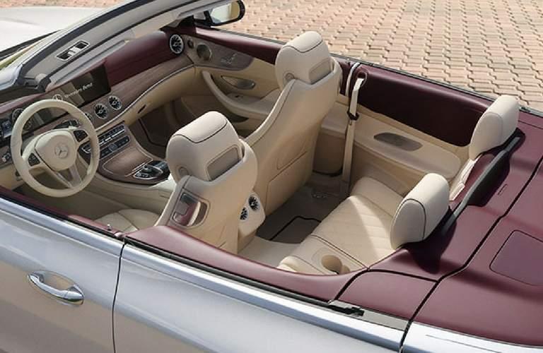 2018 Mercedes-Benz E-Class Cabriolet Interior