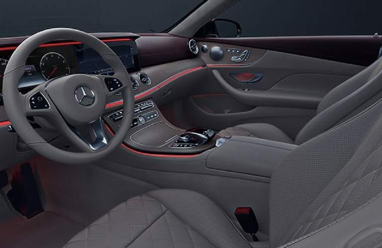 2018 Mercedes-Benz E-Class Cabriolet Steering Wheel