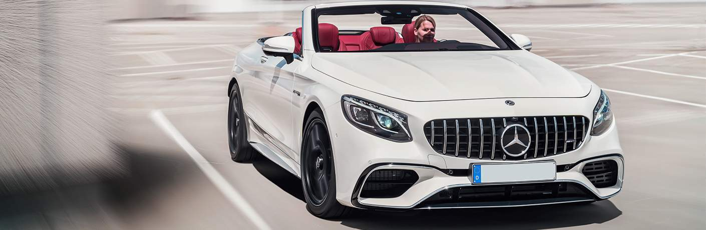 2018 Mercedes-Benz S-Class Cabriolet parked.