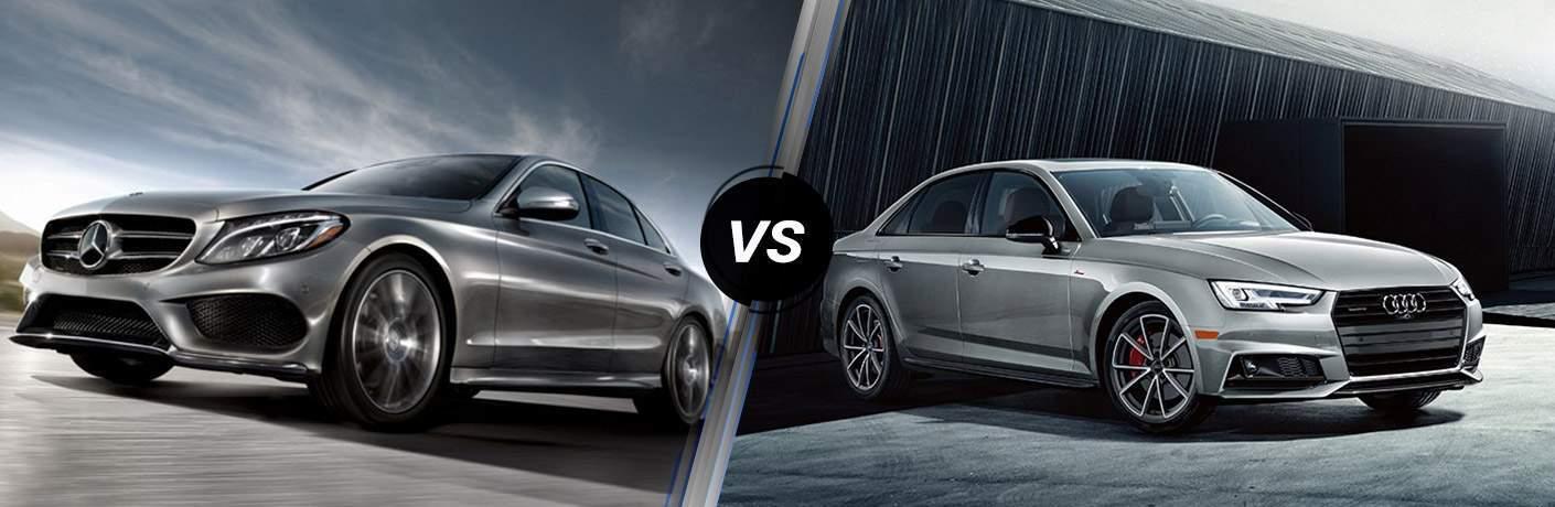 2018 Mercedes-Benz C 300 vs 2018 Audi A4