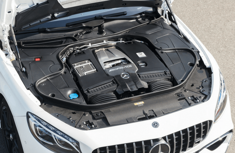 2018 Mercedes-Benz S-Class Cabriolet engine.