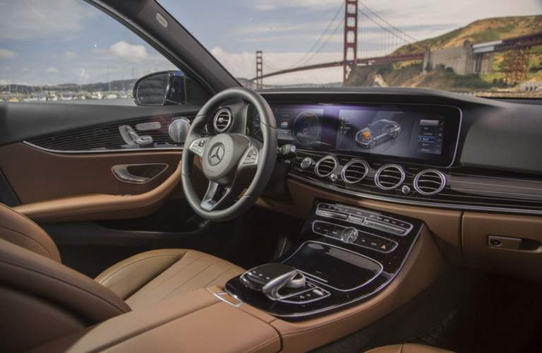 2018 Mercedes-Benz E-Class Sedan Dual Screen