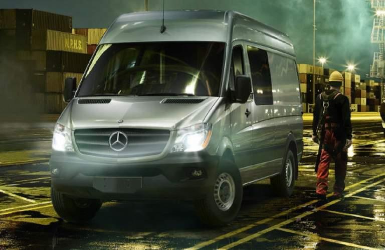 2017 Mercedes-Benz Sprinter Crew Van on the job site