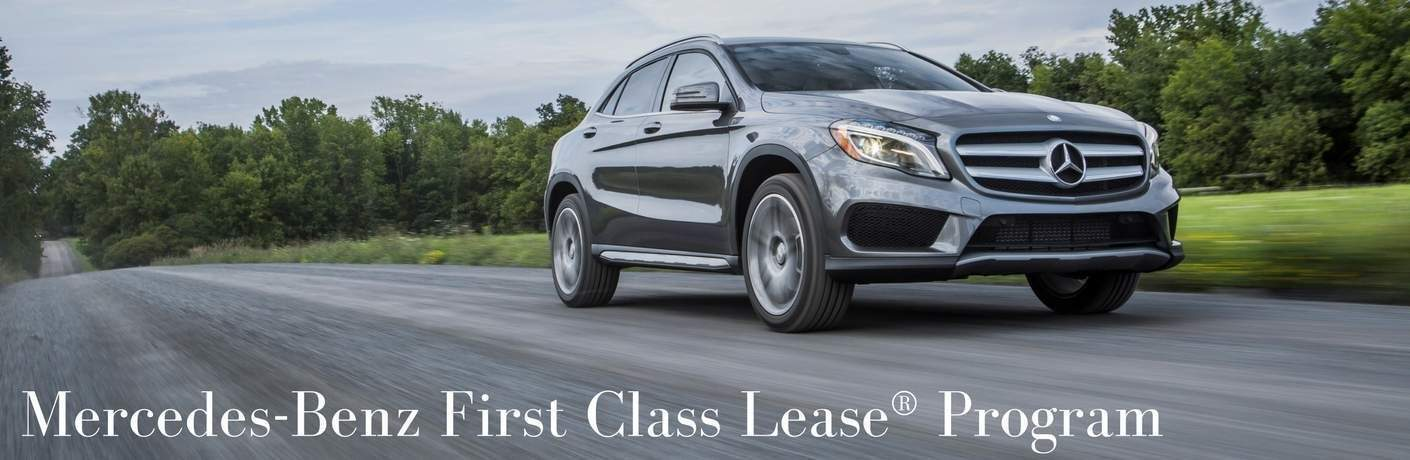 Mercedes-Benz First Class Lease Program San Luis Obispo CA