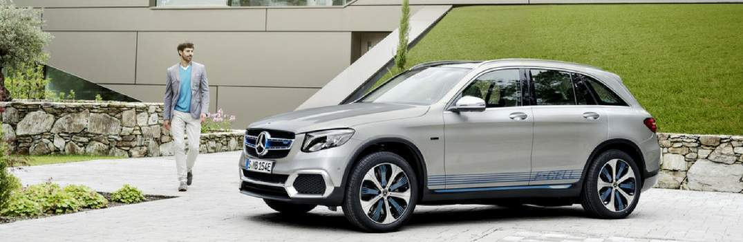 View of the new Mercedes-Benz GLC Fuel Cell