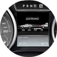 mercedes-Benz distronic technology