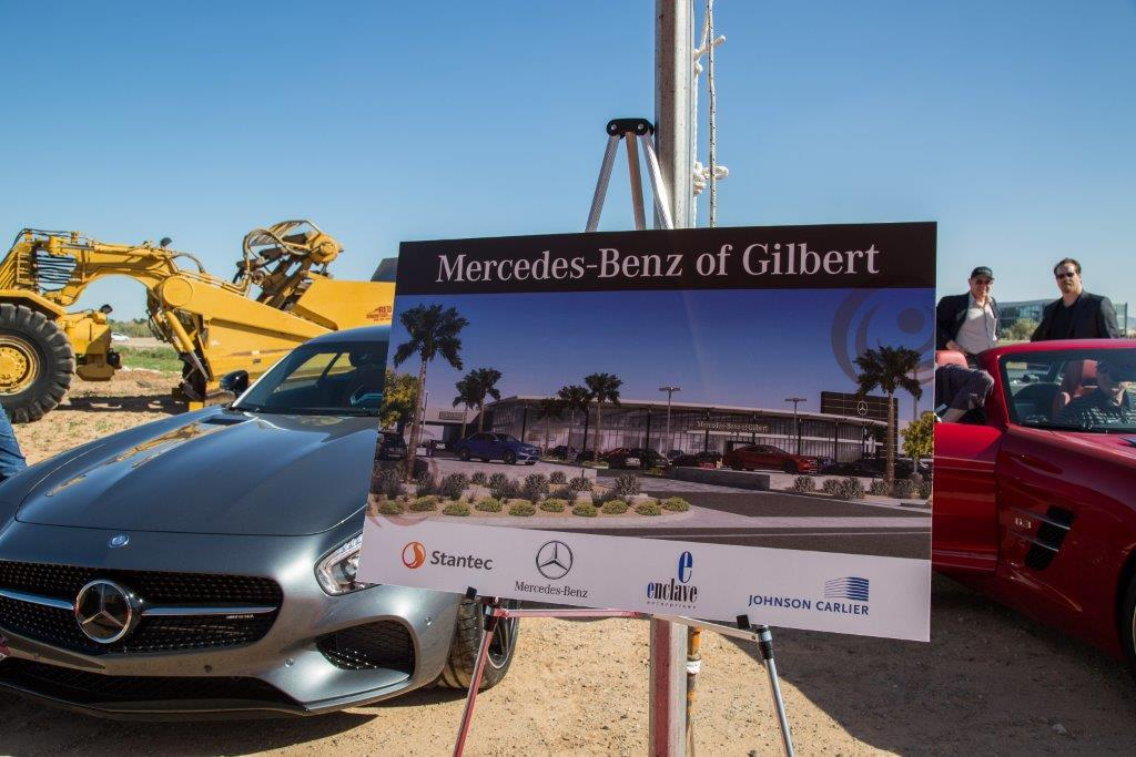 mercedes benz of gilbert groundbreaking celebration
