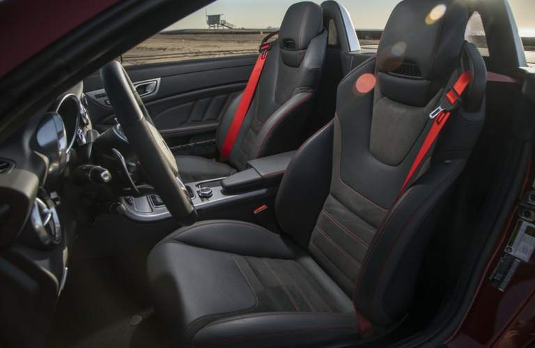 Front interior seating of 2018 Mercedes-AMG SLC 43 Roadste