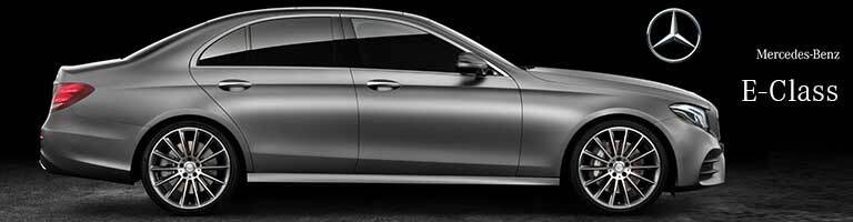 2017 Mercedes-Benz E-Class on black background