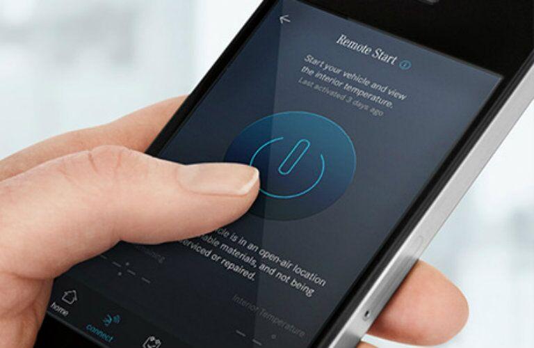 2017 Mercedes-Benz GLE mbrace app