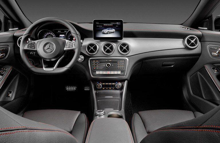 2017 Mercedes-Benz CLA Front Seats Infotainment