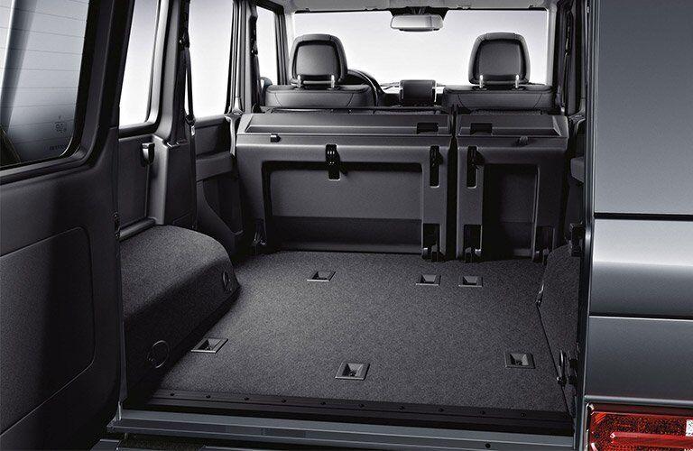 2017 G-class rear folding seats