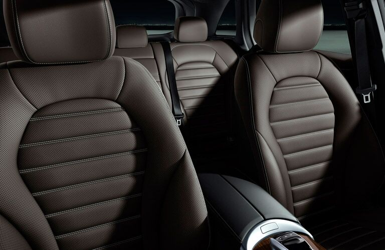 2017 Mercedes-Benz GLC SUV leather seating