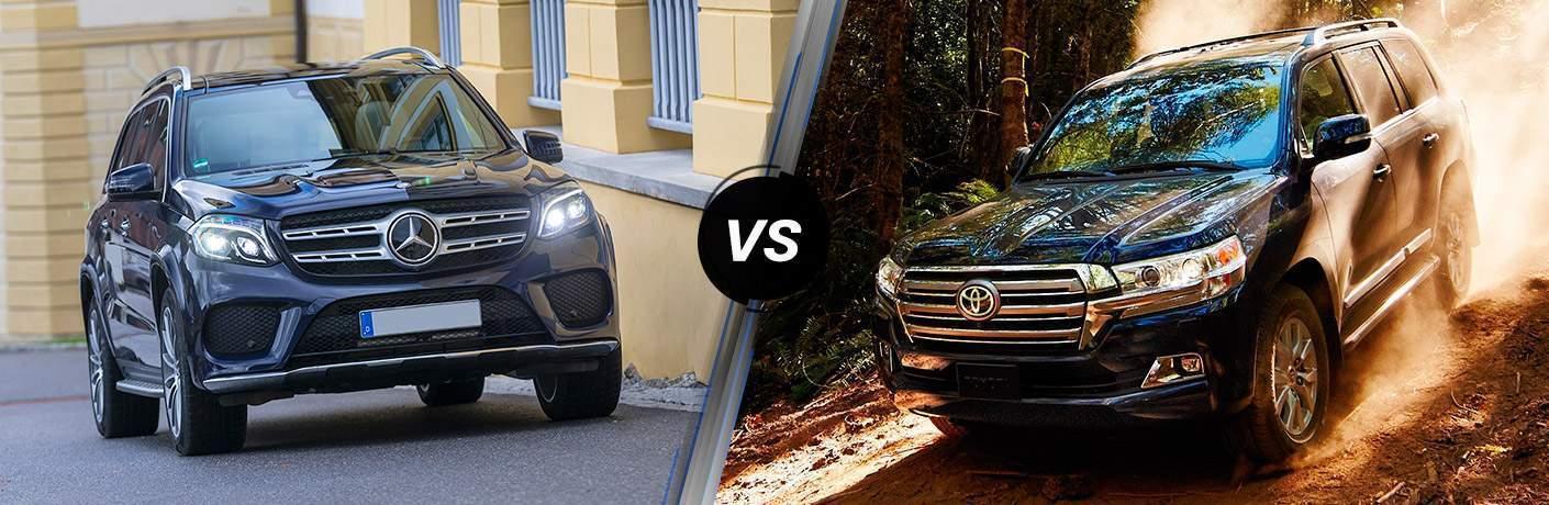 2019 Mercedes-Benz GLS 450 4MATIC® vs 2019 Toyota Land Cruiser