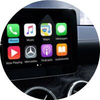 apple carplay 2017 CLA