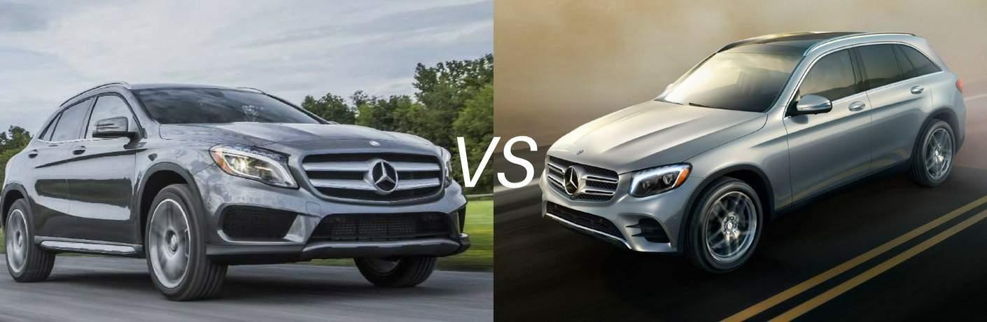 2017 Mercedes-Benz GLA vs 2017 Mercedes-Benz GLC