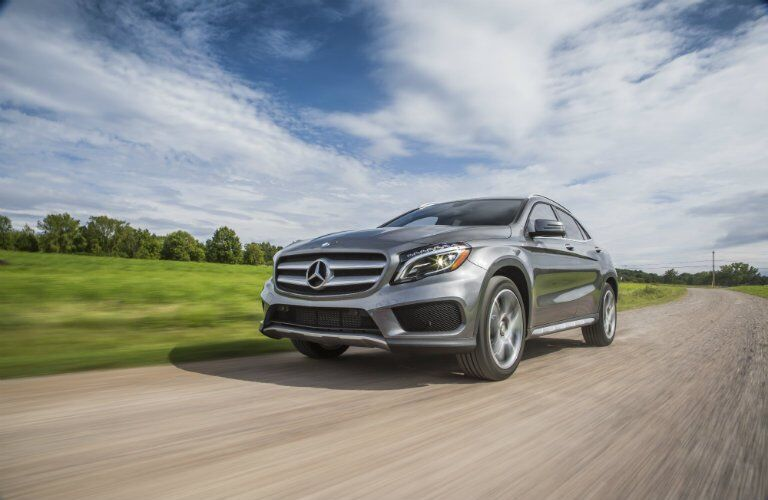 2017 GLA compact luxury SUV