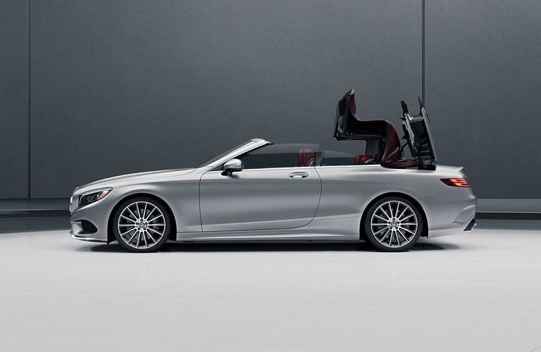 2017 Mercedes-Benz S-Class Cabriolet Convertible Roof