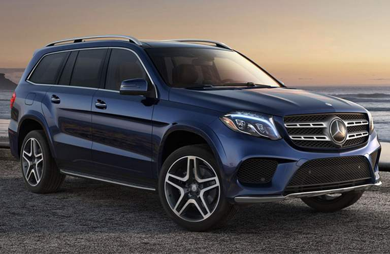 2018 Mercedes-Benz GLS by the ocean