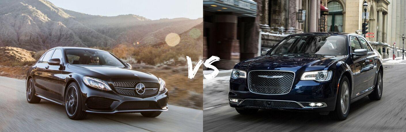 2017 Mercedes-Benz C-Class vs 2017 Chrysler 300