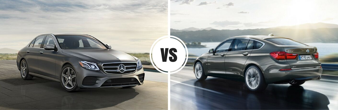 2017 Mercedes-Benz E-Class vs 2016 BMW 5 Series Sedan