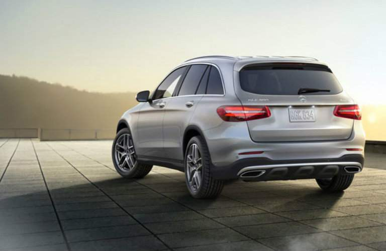 2018 Mercedes-Benz GLC exterior rear view