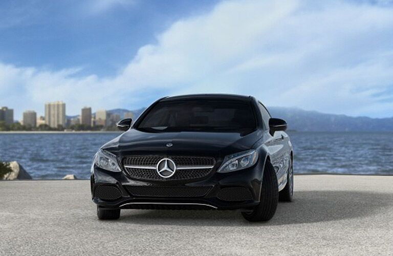 2019 Mercedes-Benz AMG® C 43 Coupe exterior profile