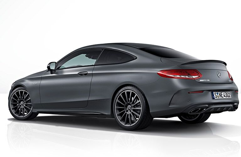 2019 Mercedes-Benz AMG® C 43 Coupe side exterior profile