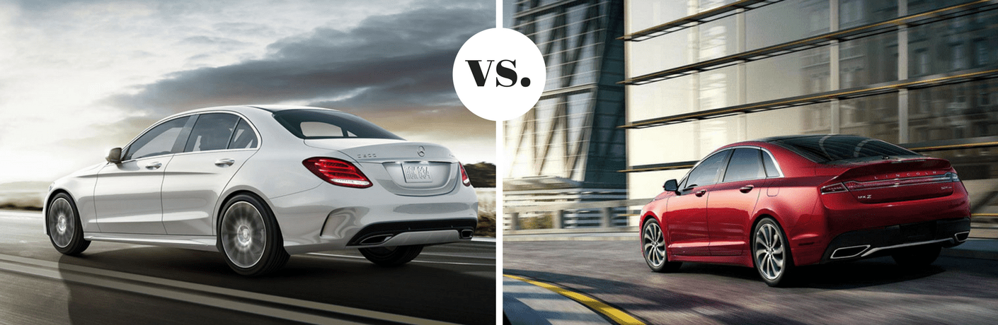 2018 Mercedes-Benz C 300 vs 2018 Lincoln MKZ