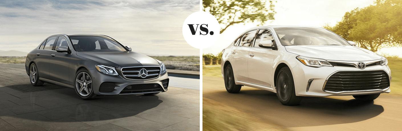 2019 Mercedes-Benz E 300 vs 2019 Toyota Avalon Limited
