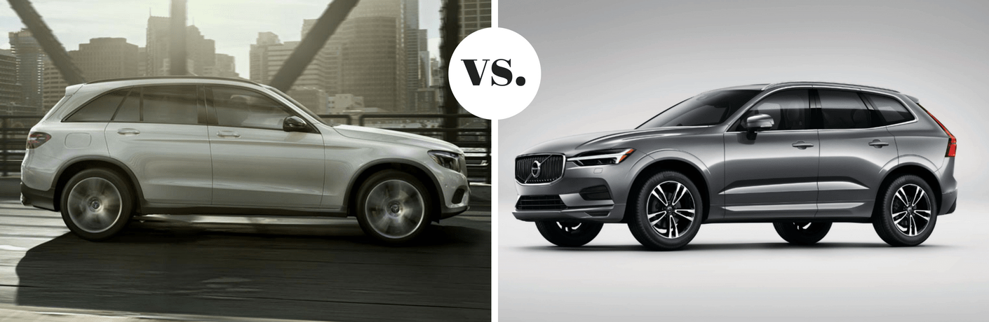 2018 Mercedes-Benz GLC 300 vs 2018 Volvo XC60