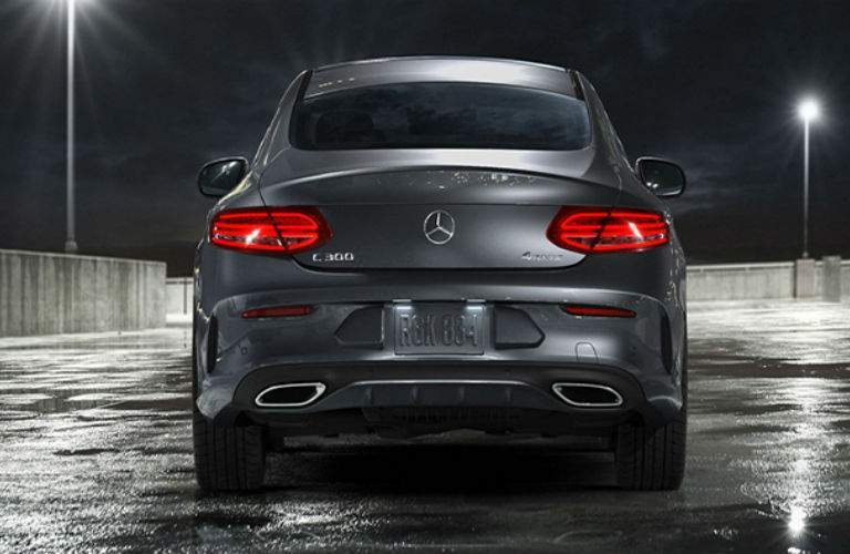 2018 Mercedes-Benz C 300 rear end view