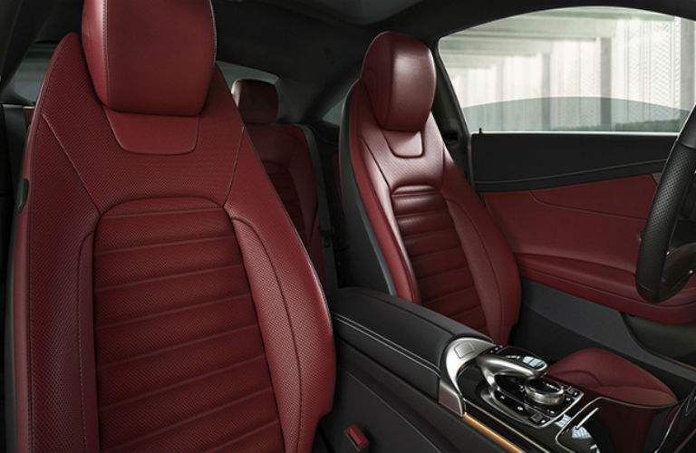 2018 Mercedes-Benz C 300 interior seats