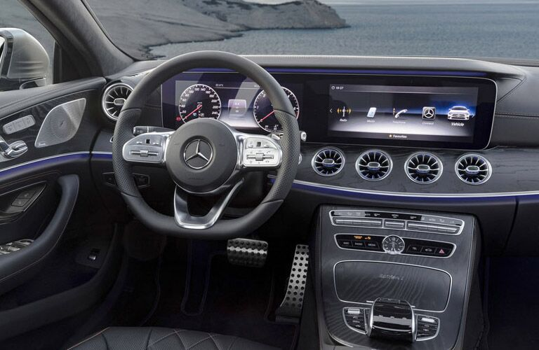 2019 Mercedes-Benz CLS 450 front interior