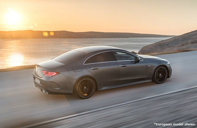 2020 Mercedes-Benz CLS on the road