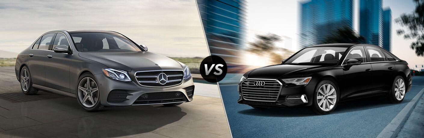 2020 Mercedes-Benz E-Class vs 2020 Audi A6