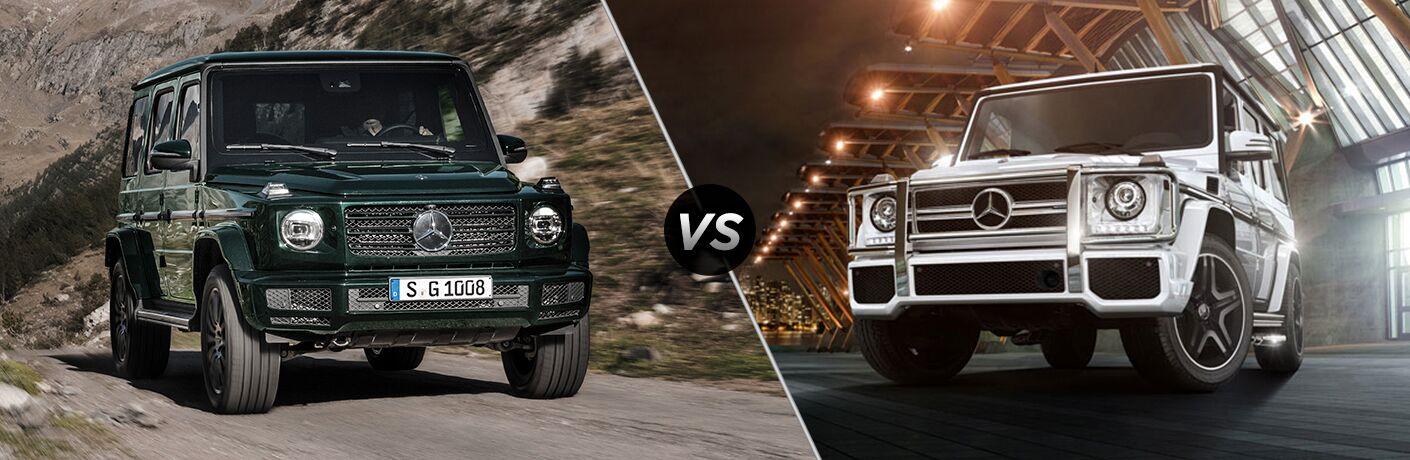 2019 Mercedes-Benz G-Class vs 2018 Mercedes-Benz G-Class