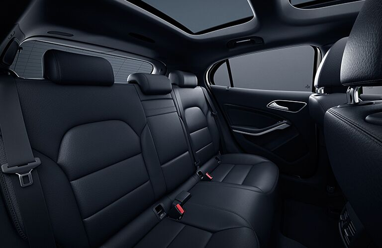 2019 Mercedes-Benz GLA 250 rear seats