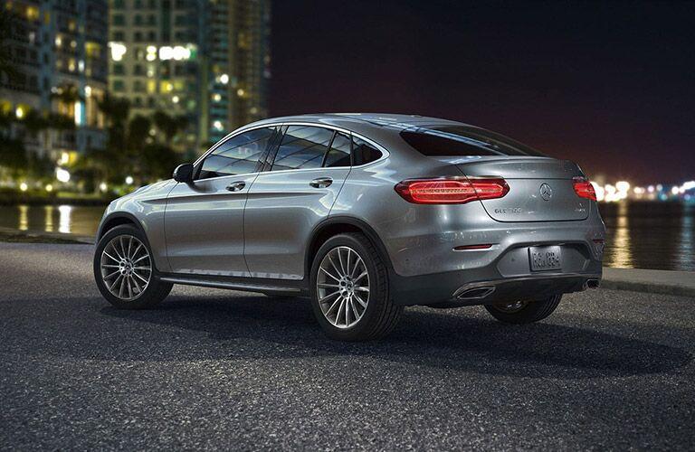 2019 Mercedes-Benz GLC Coupe exterior profile