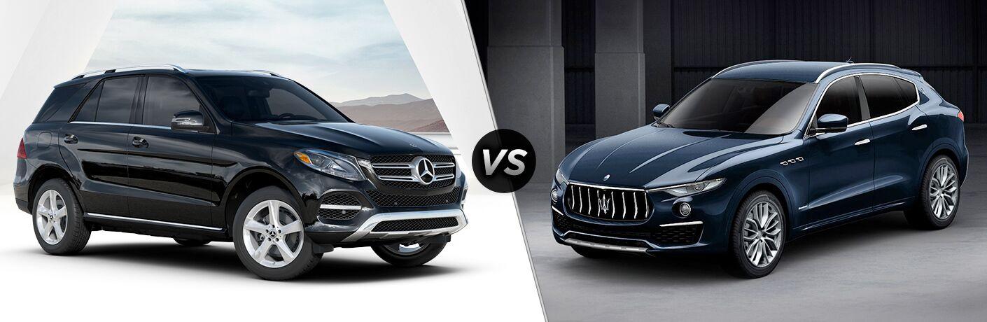 2019 Mercedes-Benz GLE 400 4MATIC®* vs 2019 Maserati Levante