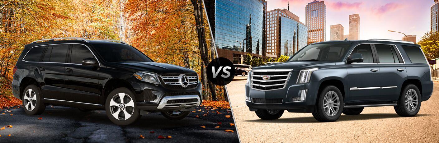 2019 Mercedes-Benz GLS 450 4MATIC®* vs 2019 Cadillac Escalade