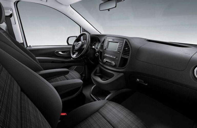 Mercedes-Benz Metris front interior