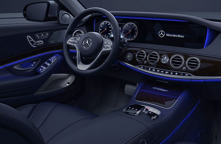 2019 Mercedes-Benz S-Class front interior