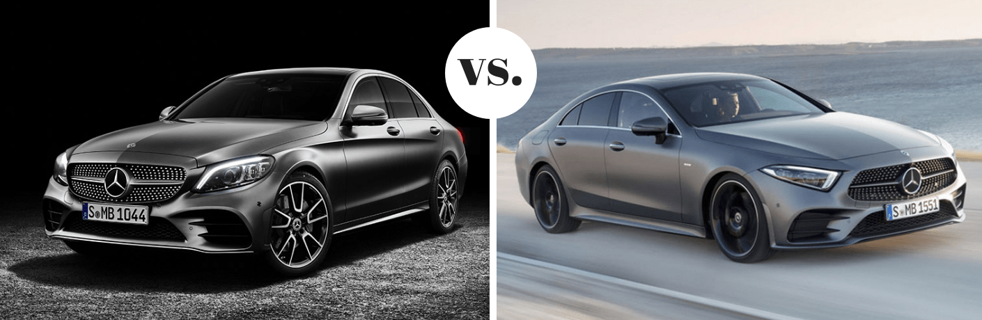 2019 Mercedes-Benz C-Class vs 2019 Mercedes-Benz CLS