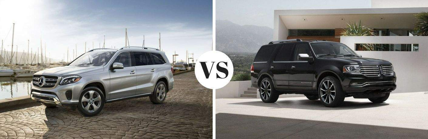 2019 Mercedes-Benz GLS 450 4MATIC® vs 2019 Lincoln Navigator